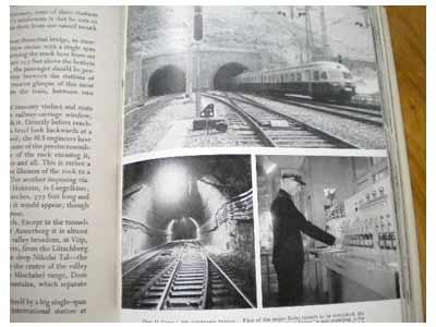 Switzerland's amazing Railways. Cecil J. Allen